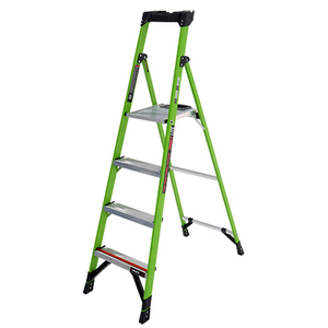MightyLite 6ft Type 1A Fiberglass Ladder Product Image