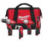 M12 Cordless Lithium-Ion 4 Tool Combo Kit Product Image