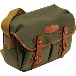 Hadley Shoulder Bag Small (Sage with Tan Leather Trim) Product Image