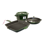 Cast Iron 4pc Cookware Set Basil Product Image