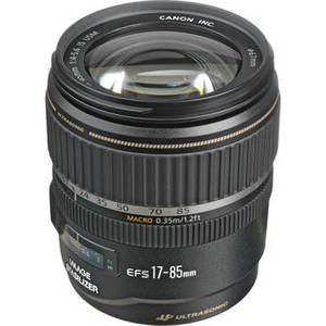 EF-S 17-85mm f/4-5.6 IS USM Lens Product Image