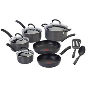 Ultimate Hard Anodized 12-Piece Cookware Set Product Image