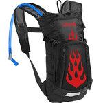 Mini M.U.L.E Kids Hydration Pack Cycling - Black/Flames Product Image