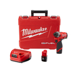 "M12 FUEL 1/4"" Hex Impact Driver Kit Product Image"