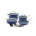 10pc Toxin Free Ceramic Nonstick Cookware Set Product Image