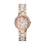 Ladies Virginia R G & Horn Acetate Watch Shimmer Horn Dial Product Image