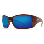 Blackfin Tortoise Sunglasses w/ Blue Mirror 580G Lens Product Image