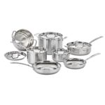 Cuisinart MultiClad Pro Triple Ply Stainless 12-Piece Cookware Set Product Image