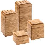 4pc Bamboo Kitchen Storage Set Product Image