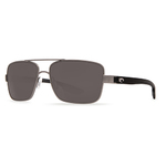 North Turn Gunmetal Sunglasses w/ Gray 580P Lens Product Image