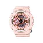 Ladies G-Shock S Series Ana-Digi Baby Pink Resin Watch Product Image