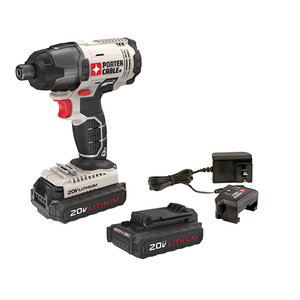 "20V MAX 1/4"" Hex Head Compact Impact Driver Kit Product Image"