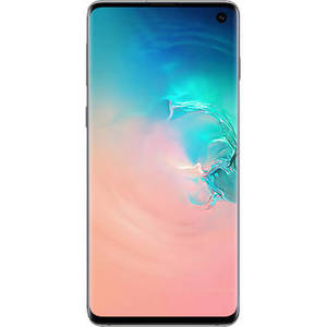 Galaxy S10 SM-G973U 128GB Smartphone (Unlocked, Prism White) Product Image