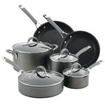 10pc Elementum Hard Anodized Cookware Set Product Image