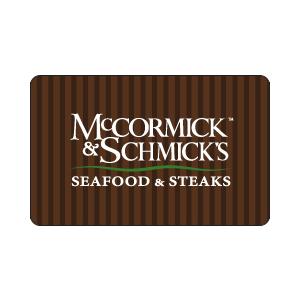 McCormick & Schmick's eGift Card $100 Product Image