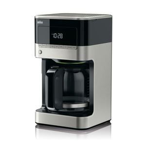 BrewSense 12-Cup Drip Coffee Maker - Stainless Steel/Black Product Image