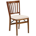 Set of 2 School House Folding Chairs Cherry Product Image