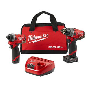 "M12 FUEL 2-Tool Combo Kit - 1/2"" Hammer Drill & 1/4"" Hex Impact Driver Product Image"