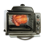 6 Slice Toaster Oven/Griddle w/ Rotisserie Product Image