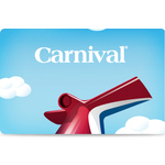 Carnival Gift Card $100