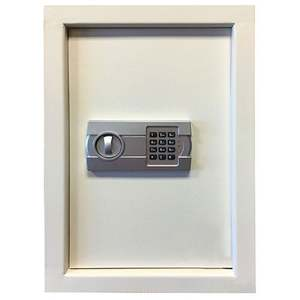 Wall Safe w/ Electronic Lock Beige Product Image