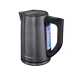 1.7L Stainless Steel Vari Temperature Electric Kettle Black Product Image