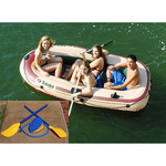 Voyager 4 Person Boat w/Oars Product Image