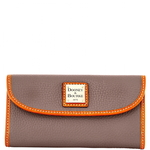 Pebble Grain Continental Clutch Product Image