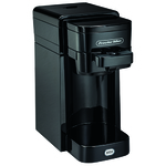 Coffeemaker Single Serve Black Product Image