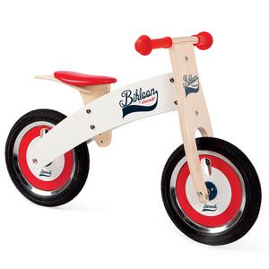 Bikloon Red and White Balance Bike Product Image
