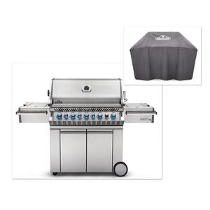 Prestige Pro 665 Grill with Infrared Burners plus Grill Cover Product Image