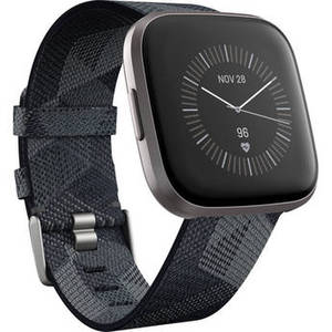 Versa 2 Special Edition Health & Fitness Smartwatch (Smoke Woven / Mist Gray Aluminum) Product Image