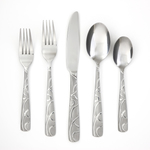 Conquest Sand 30pc Flatware Set for 6 Product Image