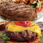 Sirloin Steak & Classic Steakburger Combo Product Image