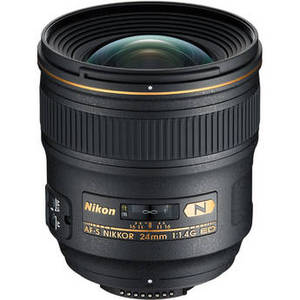 AF-S NIKKOR 24mm f/1.4G ED Lens Product Image