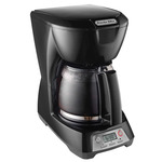 Programmable 12 Cup Coffeemaker Black Product Image