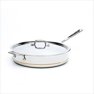Copper-Core Stainless Steel 6 Qt. Saute Pan with Lid Product Image