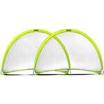 Pop-Up Dome Soccer Goal 6ft x 4ft - Set of 2 Product Image