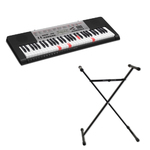 61-Key Full Size Lighted Keyboard w/ Stand