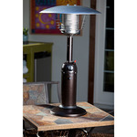 Hammer Tone Bronze Finish Table Top Patio Heater Product Image