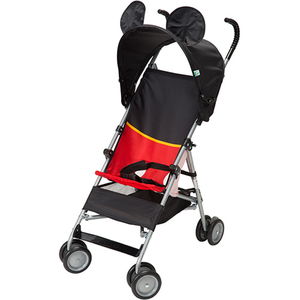 Mickey DLX Umbrella Stroller w/ 3D Canopy & Basket Product Image