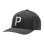 Puma P Snapback Cap - Puma Black Product Image