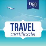 Online-Rewards travel voucher $750