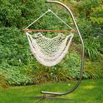 Hanging Cotton Rope Chair White