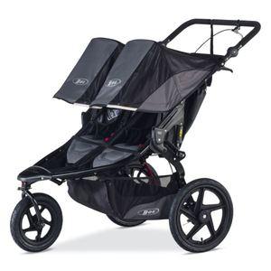 Revolution PRO Duallie Jogging Stroller - Black/Black Product Image