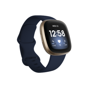 Fitbit Versa 3 (Midnight/Soft Gold Aluminum) Product Image