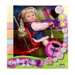 """12"""" Baby Doll With Trike Product Image"""