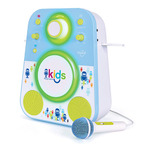 Kids Bluetooth Sing-Along System Blue and Green Ages 4+ Years Product Image