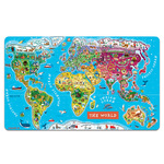 Magnetic World Map Puzzle Product Image