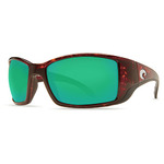 Blackfin Tortoise Sunglasses w/ Green 580P Lens Product Image